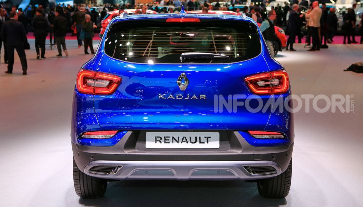 Renault Kadjar 2018: tecnica rivista per il crossover alla francese - Foto 8 di 15