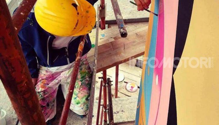 Roma, Il murales di Iena Cruz pulisce l'aria grazie a vernice AirLite - Foto 5 di 21