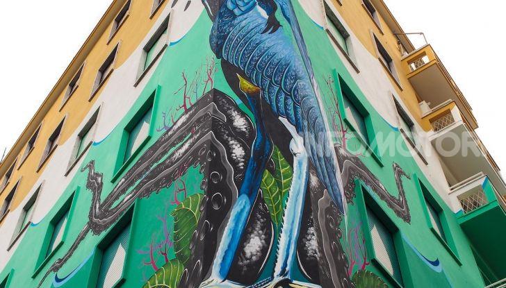 Roma, Il murales di Iena Cruz pulisce l'aria grazie a vernice AirLite - Foto 7 di 21