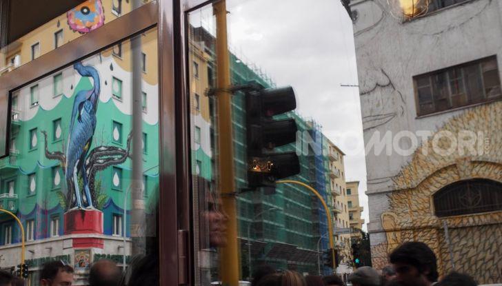 Roma, Il murales di Iena Cruz pulisce l'aria grazie a vernice AirLite - Foto 8 di 21