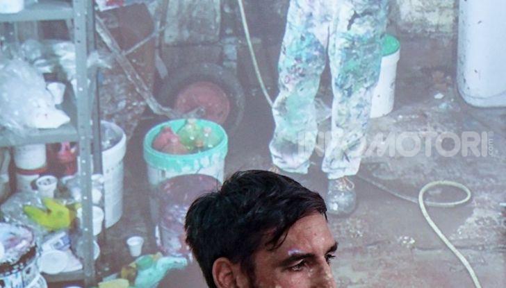 Roma, Il murales di Iena Cruz pulisce l'aria grazie a vernice AirLite - Foto 13 di 21