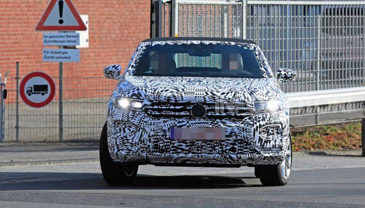 Volkswagen T-Roc Cabrio 2020: il SUV che non c'era - Foto 4 di 13
