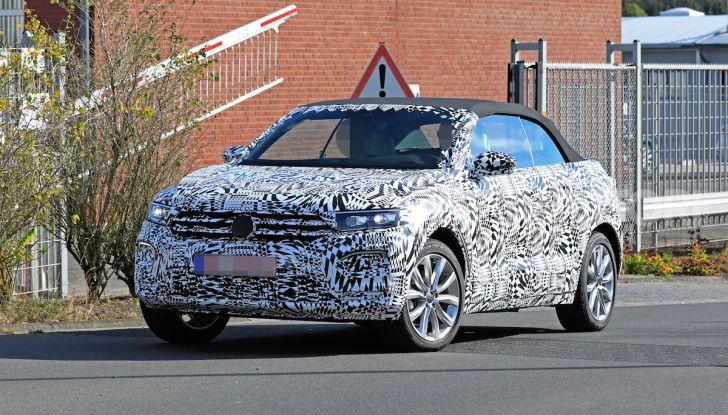 Volkswagen T-Roc Cabrio 2020: il SUV che non c'era - Foto 5 di 13