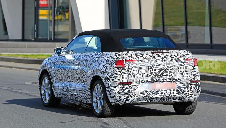 Volkswagen T-Roc Cabrio 2020: il SUV che non c'era - Foto 11 di 13