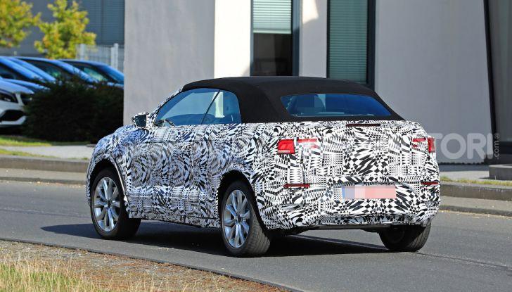 Volkswagen T-Roc Cabrio 2020: il SUV che non c'era - Foto 12 di 13