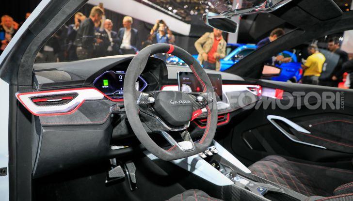 Skoda Vision RS 2018, il concept svelato al Salone di Parigi - Foto 9 di 30