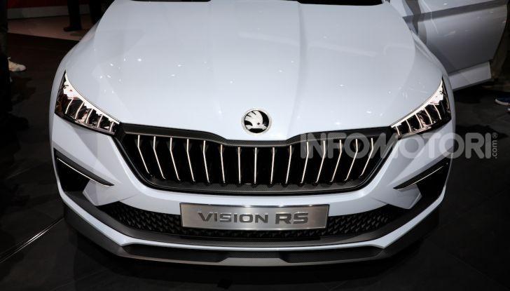 Skoda Vision RS 2018, il concept svelato al Salone di Parigi - Foto 11 di 30