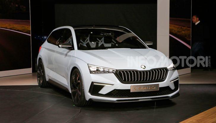 Skoda Vision RS 2018, il concept svelato al Salone di Parigi - Foto 16 di 30