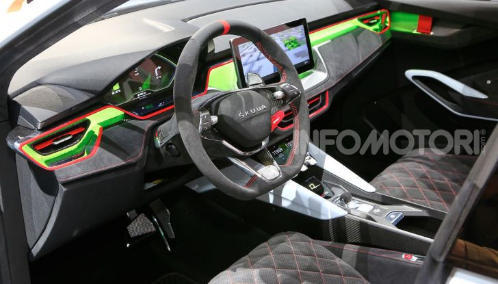 Skoda Vision RS 2018, il concept svelato al Salone di Parigi - Foto 21 di 30