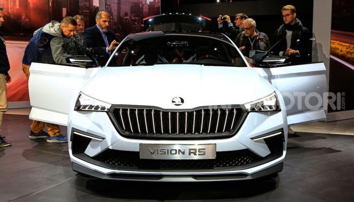 Skoda Vision RS 2018, il concept svelato al Salone di Parigi - Foto 23 di 30