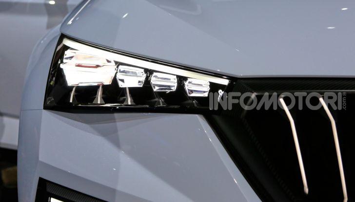 Skoda Vision RS 2018, il concept svelato al Salone di Parigi - Foto 26 di 30