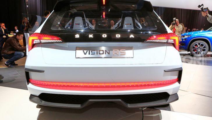 Skoda Vision RS 2018, il concept svelato al Salone di Parigi - Foto 30 di 30