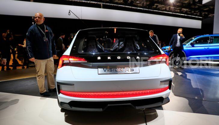 Skoda Vision RS 2018, il concept svelato al Salone di Parigi - Foto 4 di 30