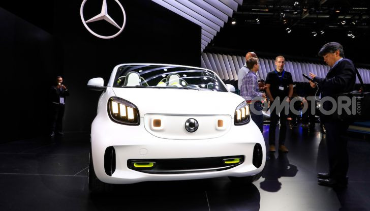 Smart forease, city car open air su base smart EQ fortwo cabrio - Foto 2 di 20