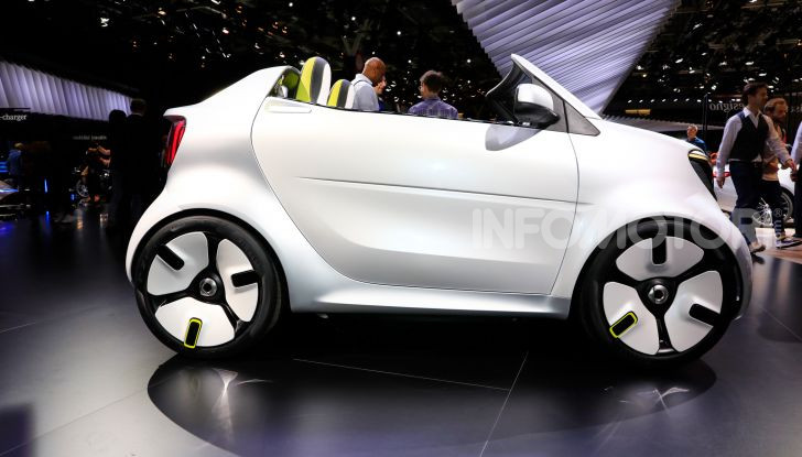 Smart forease, city car open air su base smart EQ fortwo cabrio - Foto 3 di 20