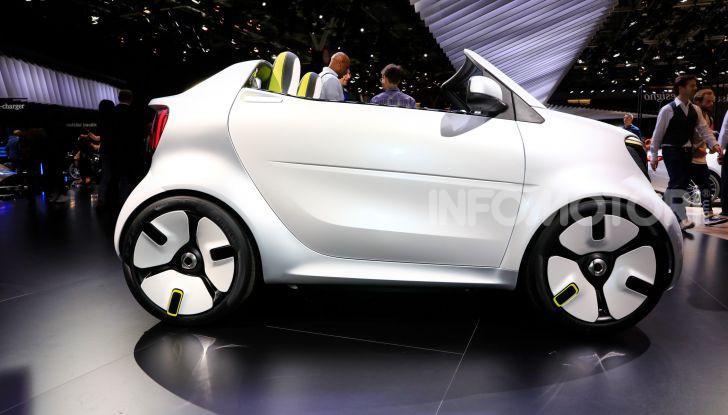 Smart forease, city car open air su base smart EQ fortwo cabrio - Foto 3 di 20