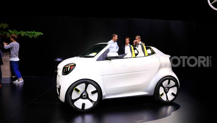 Smart forease, city car open air su base smart EQ fortwo cabrio - Foto 15 di 20