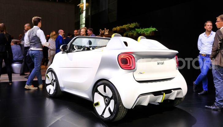 Smart forease, city car open air su base smart EQ fortwo cabrio - Foto 5 di 20