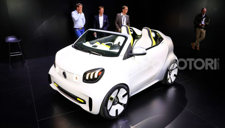 Smart forease, city car open air su base smart EQ fortwo cabrio - Foto 19 di 20