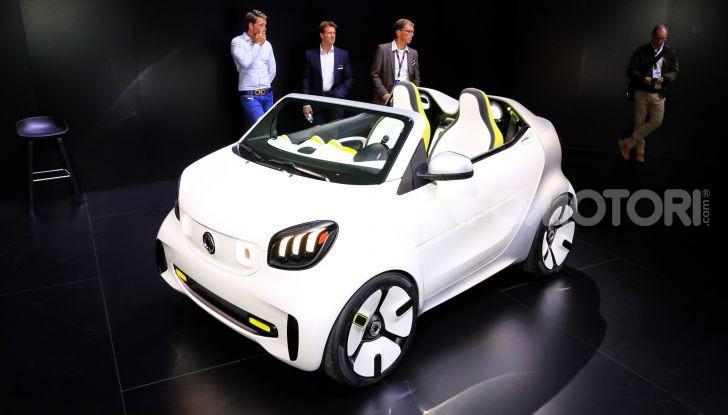 Smart forease, city car open air su base smart EQ fortwo cabrio - Foto 19 di 20