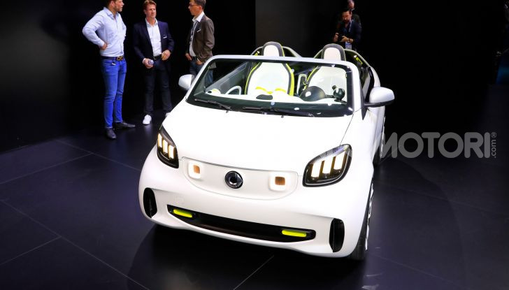 Smart forease, city car open air su base smart EQ fortwo cabrio - Foto 20 di 20