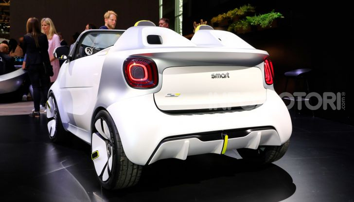 Smart forease, city car open air su base smart EQ fortwo cabrio - Foto 7 di 20