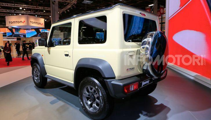 Suzuki Jimny nuova generazione, novità per la piccola 4×4 - Foto 10 di 18
