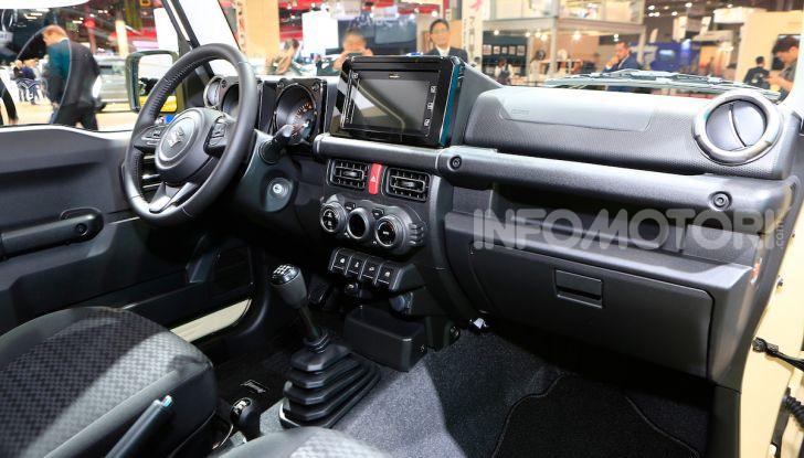 Suzuki Jimny nuova generazione, novità per la piccola 4×4 - Foto 13 di 18