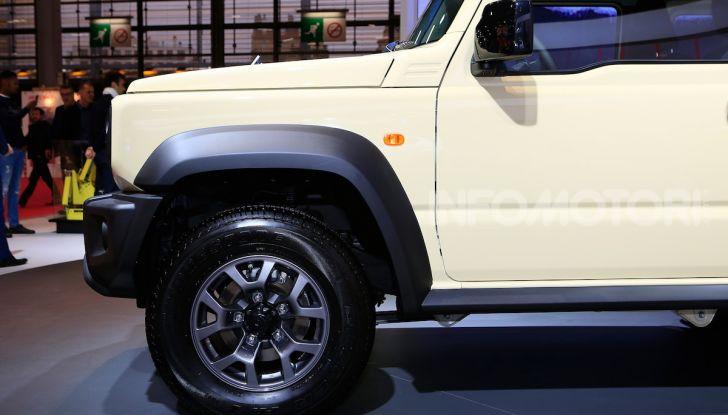 Suzuki Jimny nuova generazione, novità per la piccola 4×4 - Foto 14 di 18
