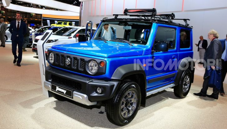 Suzuki Jimny nuova generazione, novità per la piccola 4×4 - Foto 18 di 18