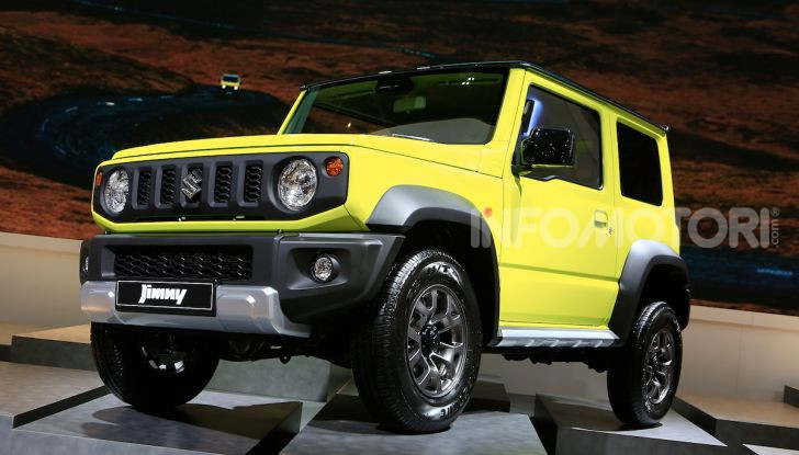 Suzuki Jimny nuova generazione, novità per la piccola 4×4 - Foto 2 di 18