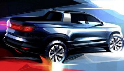 Volkswagen presenta in Brasile un Pick-Up su base Polo