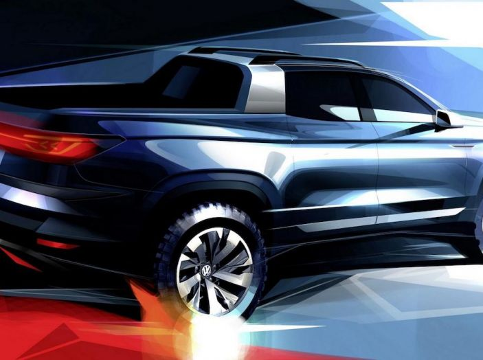 Volkswagen presenta in Brasile un Pick-Up su base Polo