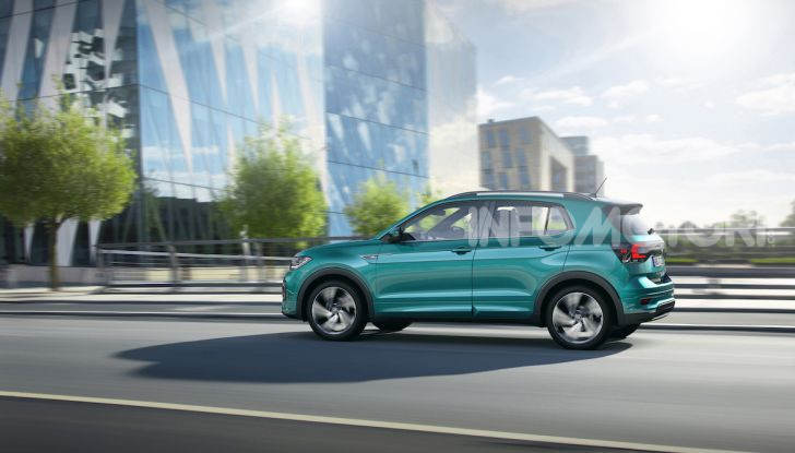 Volkswagen T-Cross 2019: il crossover entry-level su base Polo - Foto 2 di 12