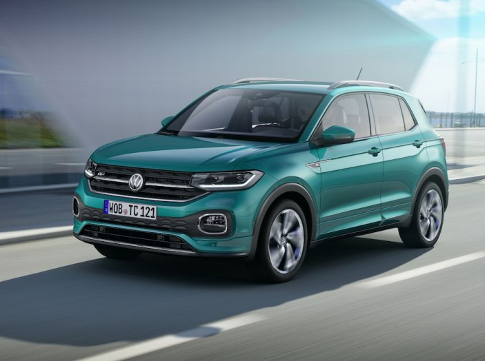 Volkswagen T-Cross 2019: il crossover entry-level su base Polo