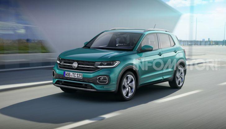 Volkswagen T-Cross 2019: il crossover entry-level su base Polo - Foto 1 di 12