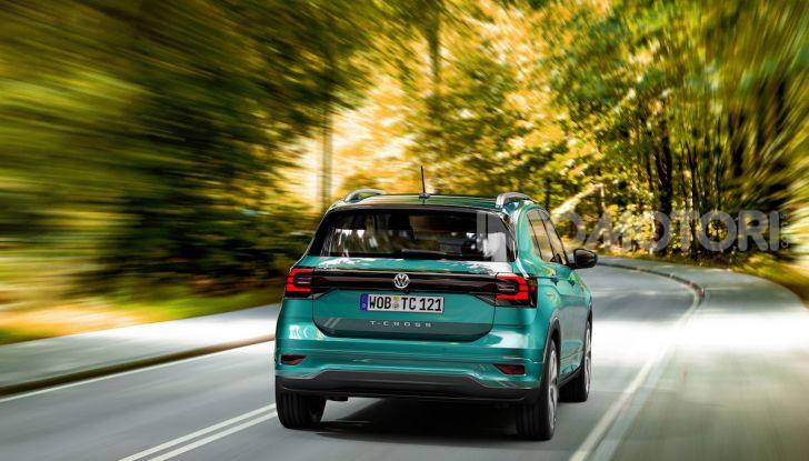 Volkswagen T-Cross 2019: il crossover entry-level su base Polo - Foto 9 di 12
