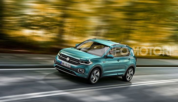 Volkswagen T-Cross 2019: il crossover entry-level su base Polo - Foto 8 di 12