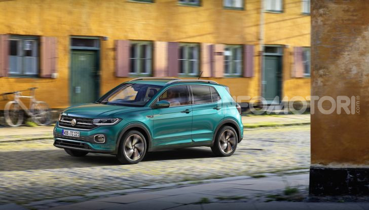 Volkswagen T-Cross 2019: il crossover entry-level su base Polo - Foto 6 di 12