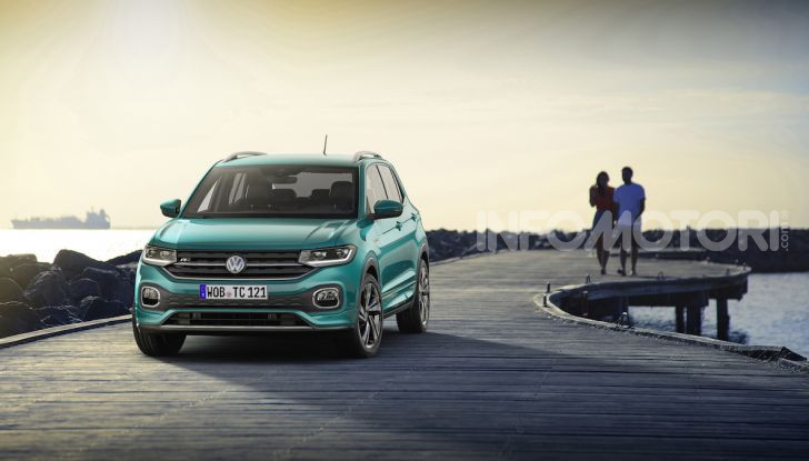 Volkswagen T-Cross 2019: il crossover entry-level su base Polo - Foto 5 di 12