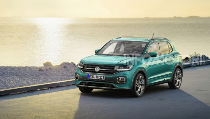 Volkswagen T-Cross 2019: il crossover entry-level su base Polo - Foto 4 di 12