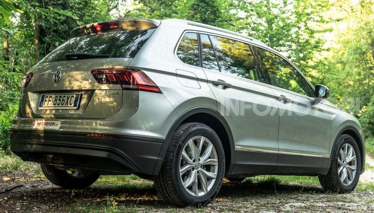 Volkswagen Tiguan MY 2020: il SUV compatto tedesco si rinnova - Foto 18 di 38