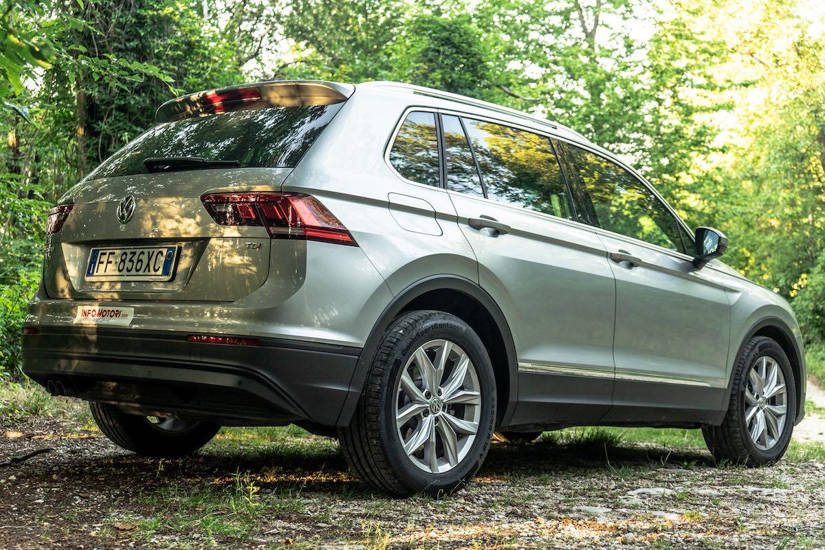 Volkswagen Tiguan prova su strada