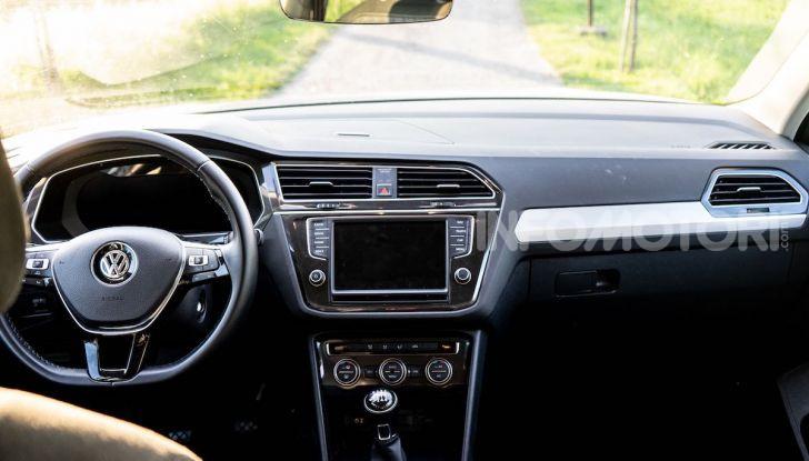 Volkswagen Tiguan MY 2020: il SUV compatto tedesco si rinnova - Foto 31 di 38