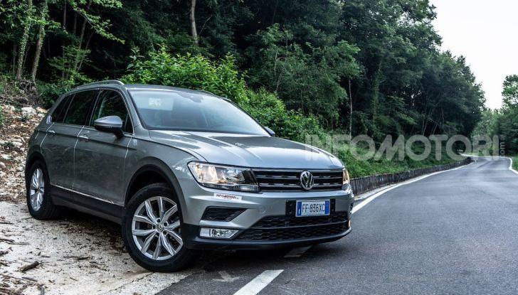 Prova Volkswagen Tiguan 2018: il SUV comodo, spazioso e veloce - Foto 10 di 38