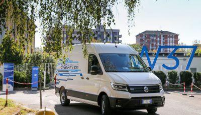 Volkswagen e-Crafter, il commerciale elettrico per superare i divieti