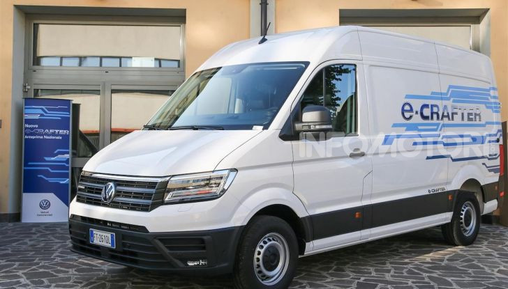 Volkswagen e-Crafter, il commerciale elettrico per superare i divieti - Foto 10 di 15