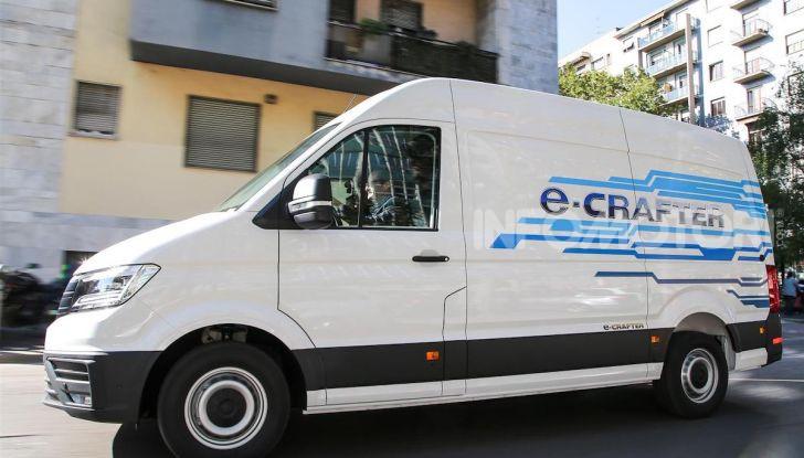 Volkswagen e-Crafter, il commerciale elettrico per superare i divieti - Foto 11 di 15