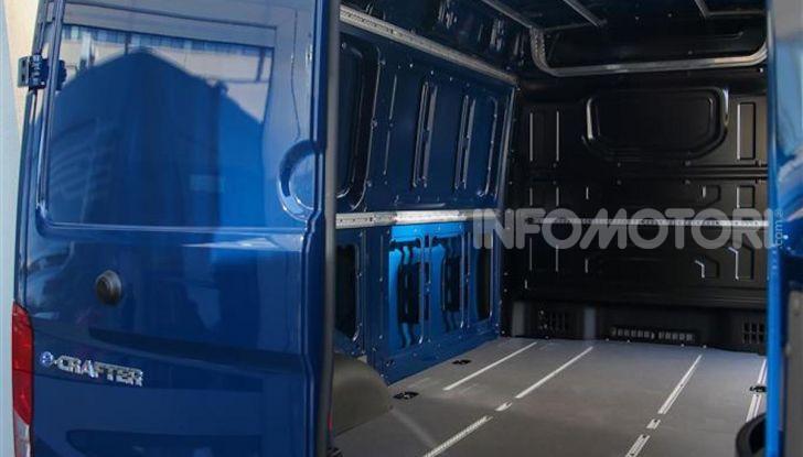 Volkswagen e-Crafter, il commerciale elettrico per superare i divieti - Foto 12 di 15