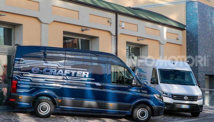 Volkswagen e-Crafter, il commerciale elettrico per superare i divieti - Foto 15 di 15